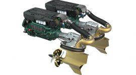 двигатель D13-1000 мощностью 1000 л.с.
